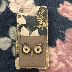 Kate spade phone case with card holder apple 8